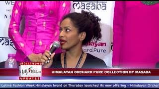 HIMALAYAN ORCHARD PURE COLLECTION BY MASABA LFW 2017 DAY 1