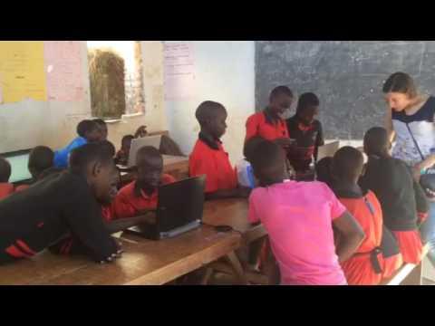 Teaching Arduino in Uganda