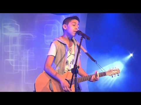 ED SHEERAN - AFIRE LOVE performed by MUSTY at the Hayes Area Final of Open Mic UK