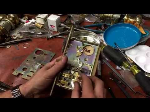 Baldwin 6320 Mortise Lock disassembly & helpful reassembly tips