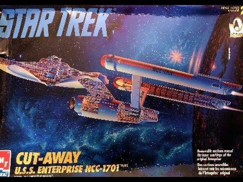 uss enterprise cutaway 30th anniversary commenorative model kit