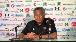 Norm Chow Post-Game Press Conference vs. Washington 8-30-14