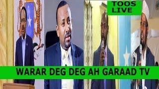 Warar deg deg ah Baqdinta Farmaajo Ee Somaliland, Sirta Sacuudiga, Imaaraadka & Itoobiya
