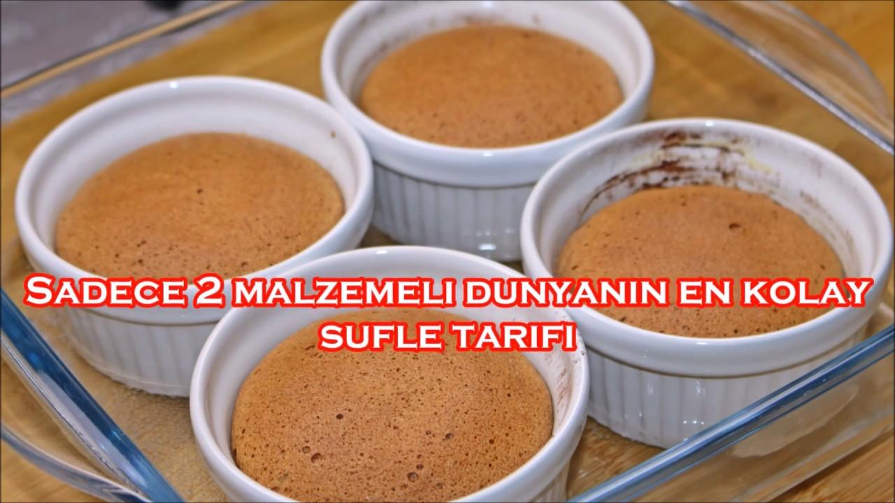 2 Malzemeli Sufle Tarifi