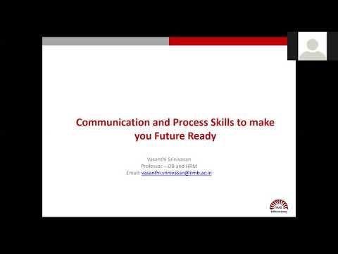 IIMB's CenComm Connect: Webinar On Communication & Process Skills To Make You Future Ready