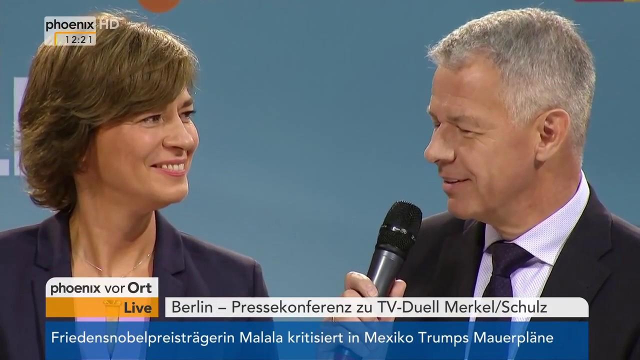 Pressekonferenz Merkel Tv