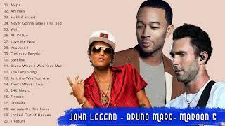 Best Pop Collection Songs 2018 - John Legend, Bruno Mars, Maroon 5 Full Album