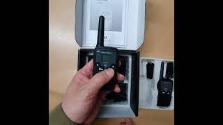 생활무전기 멀티블랙 (2개1조구성)