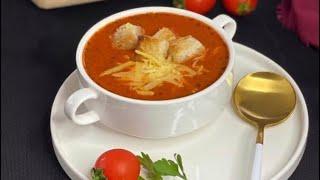 Domates Çorbası Tarifi/ Bütün Püf Noktalarıyla Lokanta Usulü Domates Çorbası Nasıl Yapılır?