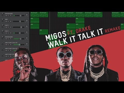 Making a Beat: Migos - Walk It Talk It ft. Drake (Remake)