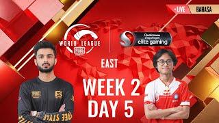 [BAHASA] W2D5 - PMWL EAST - Super Weekend | PUBG MOBILE World League Season Zero (2020)