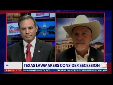 Texas Lawmakers Consider Secession Over Life Under Democrat Marxism -- More States Interested