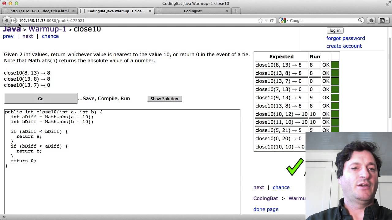 Java If Boolean Example Solution Code 2