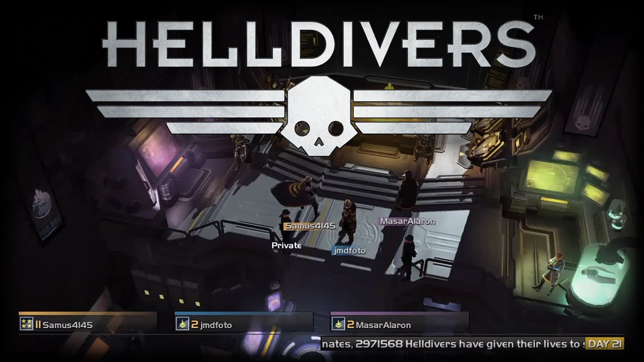 SB Live: Helldivers Multiplayer