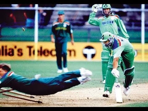 Image result for jonty rhodes run out inzamam