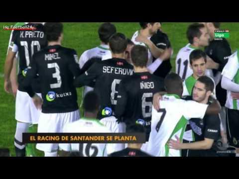 Racing Santander refuse to play v Real Sociedad in act of defiance at unpaid salaries
