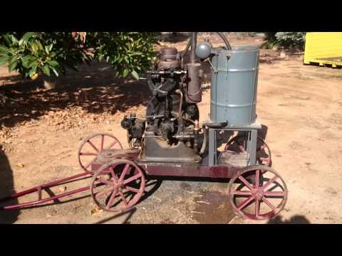 5hp Bolinders crude oil engine