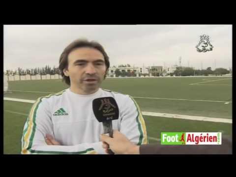 Déclaration du sélectionneur de la Mauritanie Corentin Martins avant le match face à l'Algérie