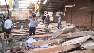 Suicide bomber kills 48 people at an education centre in the Afghan capital, Kabul thumbnail