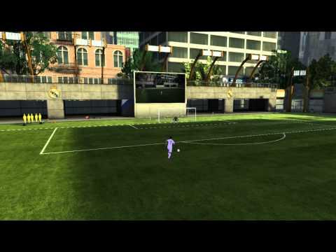 FIFA 11 - C.Ronaldo Amazing Ball Curve Technic