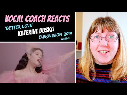 Vocal Coach Reacts to &39;Better Love&39; Katerine Duska - Greece Eurovision 2019