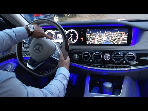 2017 Mercedes S Class - Park Itself? S350 d AMG Long Review Drive Parking Assist