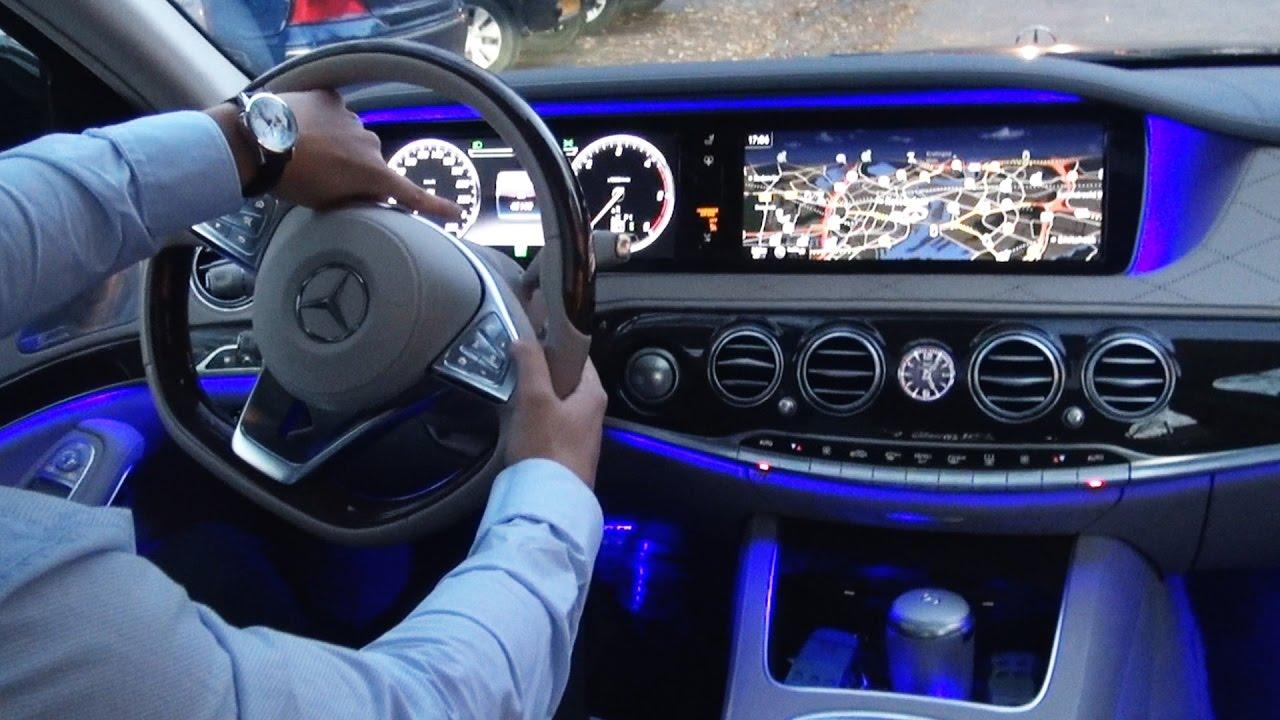 2017 Mercedes S Cl Park Itself S350 D Amg Long Review Drive Parking Ist You