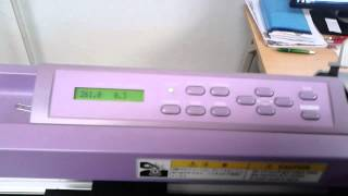 Mimaki CG-130 FX II paper cut