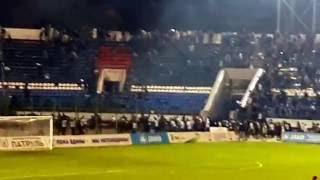 факел воронеж динамо москва провокация и драка беспорядки на матче