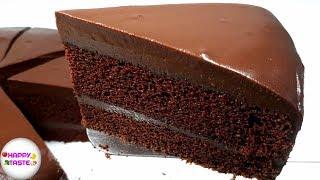เค้กช็อกโกแลตหน้านิ่ม Chocolate Fudge Cake สูตรอร่อยนุ่มละลายในปาก  | happytaste