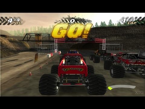 Monster Jam PS2 Gameplay HD (PCSX2)