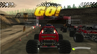 Monster Jam PS2 Gameplay HD (PCSX2)