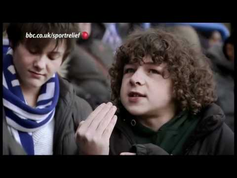Frank Lampard and Christine Bleakley + Outnumbered Sports Relief 2012 HD