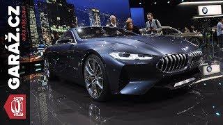 BMW 8, Z4, X7 a iVision Dynamics koncepty - Frankfurt 2017 živě