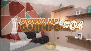 Transformação de sala de estar – Socorro, ZAP! Garimpo