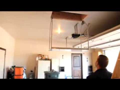 Versalift Ultimate Attic Lift Installation Youtube