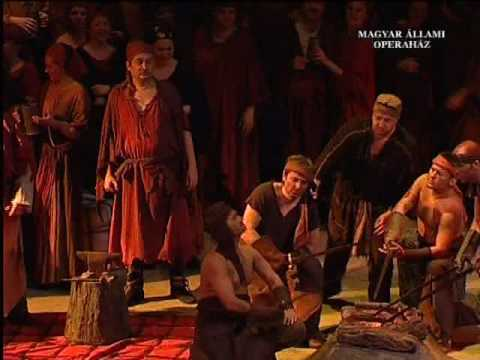 Il trovatore - Anvil chorus (Chorus of the Hungarian State Opera House)