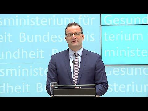 10.07.2019 - Statement Jens Spahn - Medizin-Apps Auf Rezept / Elektronische Patientenakte / U.a.
