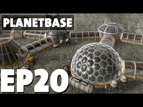 Let's Play Planetbase Episode 20 - Stargazer and Overpopulation - Version 1.0.5