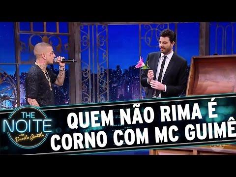 Quem não rima é corno com Mc Guimê   The Noite (26/11/16)