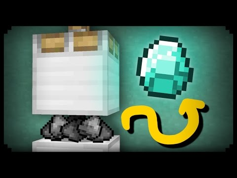 ✔ Minecraft: How to make a Diamond Press
