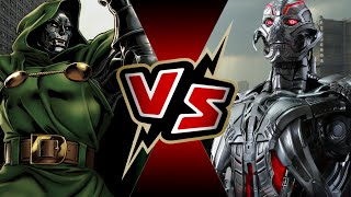 Dr. Doom VS Ultron | BATTLE ARENA Video