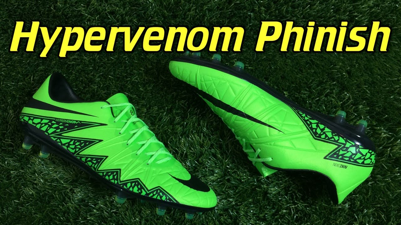 caed2cecd9e Nike Hypervenom Phinish Green Strike - Review + On Feet - YouTube