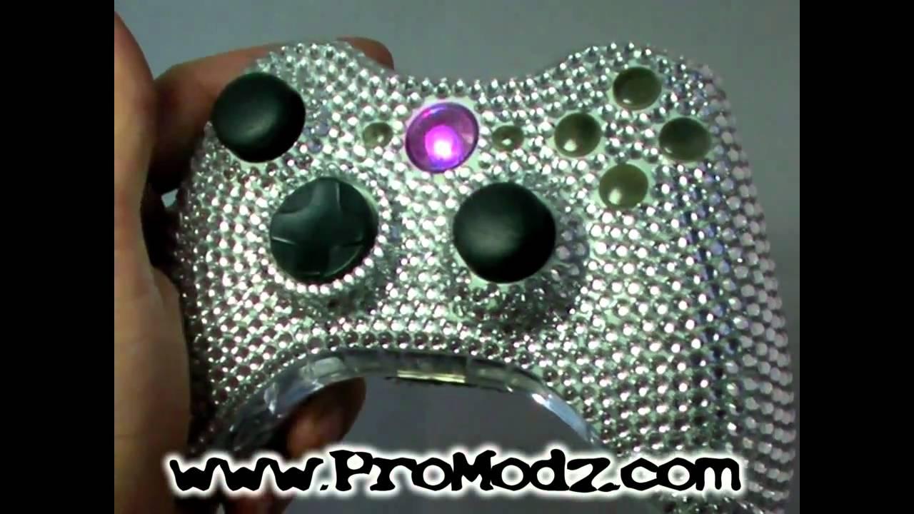 Xbox 360 Controller Diamond ProModz com s ICE Controller