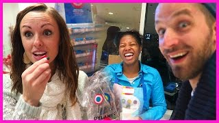 WORLDS LARGEST CANDY STORE! UNLIMITED SAMPLES! | DAY 5