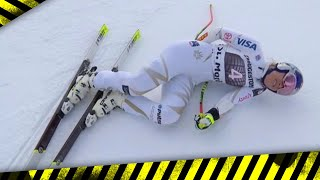 Lindsey Vonn Suffers Back Injury in World Cup Race