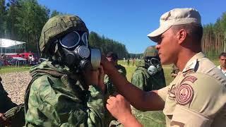 «Безопасная среда-2018»: этап огневой подготовки (команды Китая и Египта)