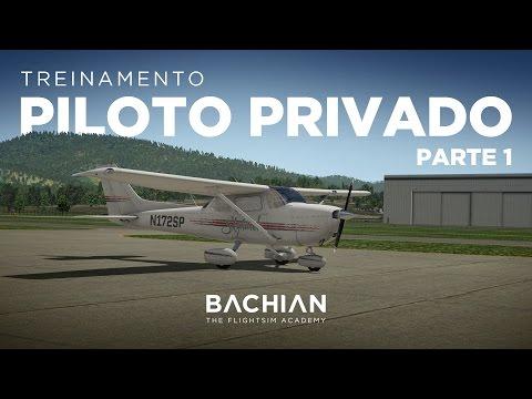 X-Plane 11 - C172 / Treinamento básico de PP - Parte 1