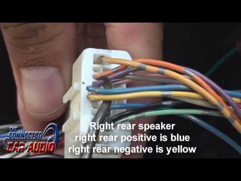 Nissan Versa stereo wiring 2012 and up - YouTube on