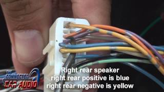 Nissan Versa stereo wiring 2012 and up - YouTube | 2014 Nissan Versa Wiring Harness |  | YouTube